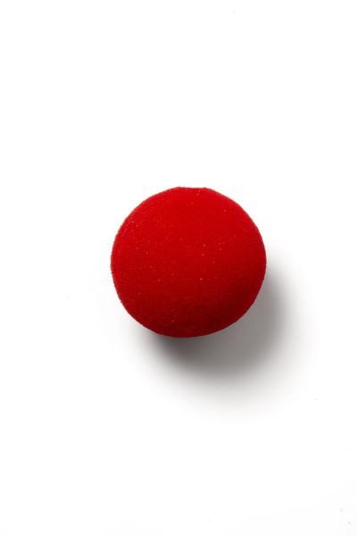 Clown Nase Outfit Kostüm Verkleidung Nase weiche Schaumstoffnase in rot