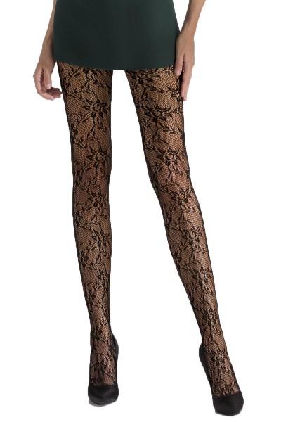 Swedish Stockings Nina Fishbone Schwarz Roberta