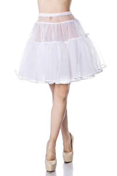 Kurzer Tüll Petticoat aus mehreren Lagen und Stufen mit elastischem Bund bauschig