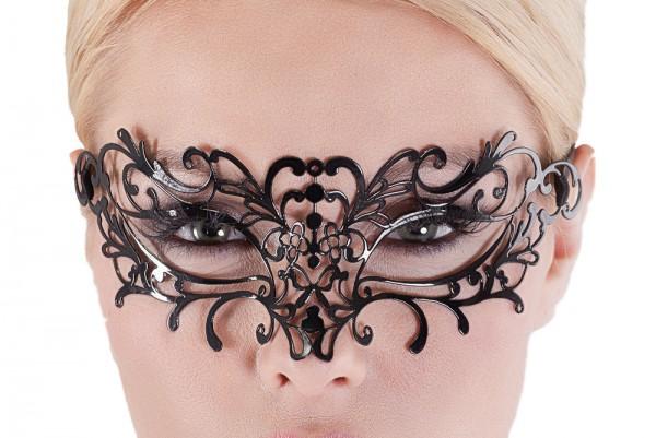 Venezianische Maske aus Metall biegsam Gesichts Maske Verkleidung Kostüm OneSize