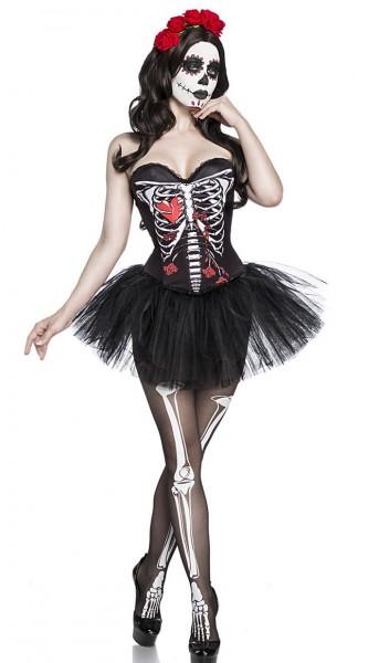 Skelett Corsage Halloween Verkleidung Skelett Geist Fantasy