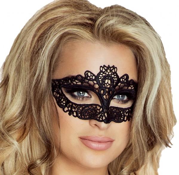Venezianische Maske aus Stoff biegsam Augen Maske Verkleidung Kostüm OneSize