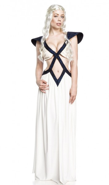 Fantasy Kleid Halloween Verkleidung Drachenköniginn Fantasy