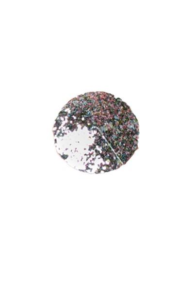 Silber Damen Nippel Patch mit Glitzer klein verziert selbsthaftend Rund 2x