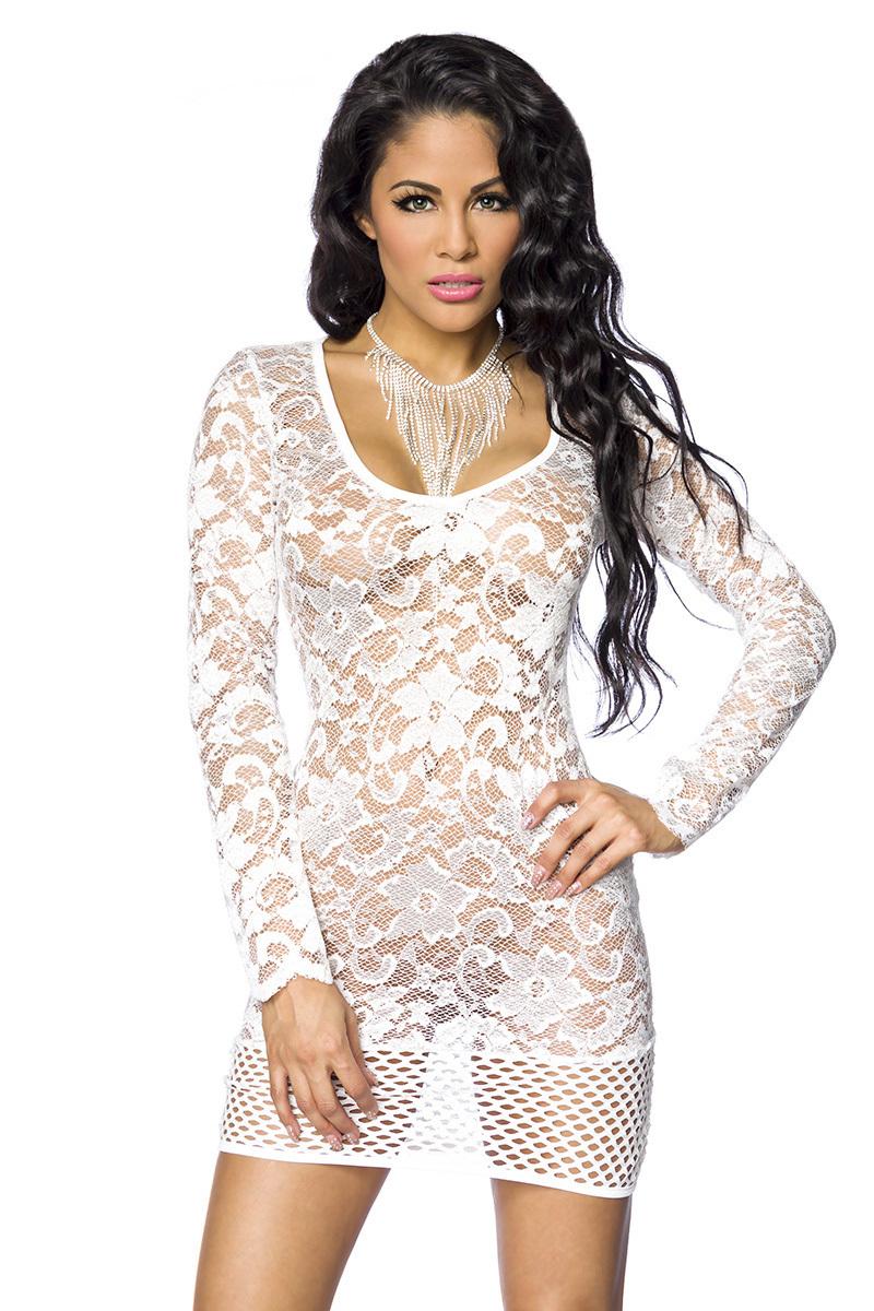 Sexy Weißes Kleid